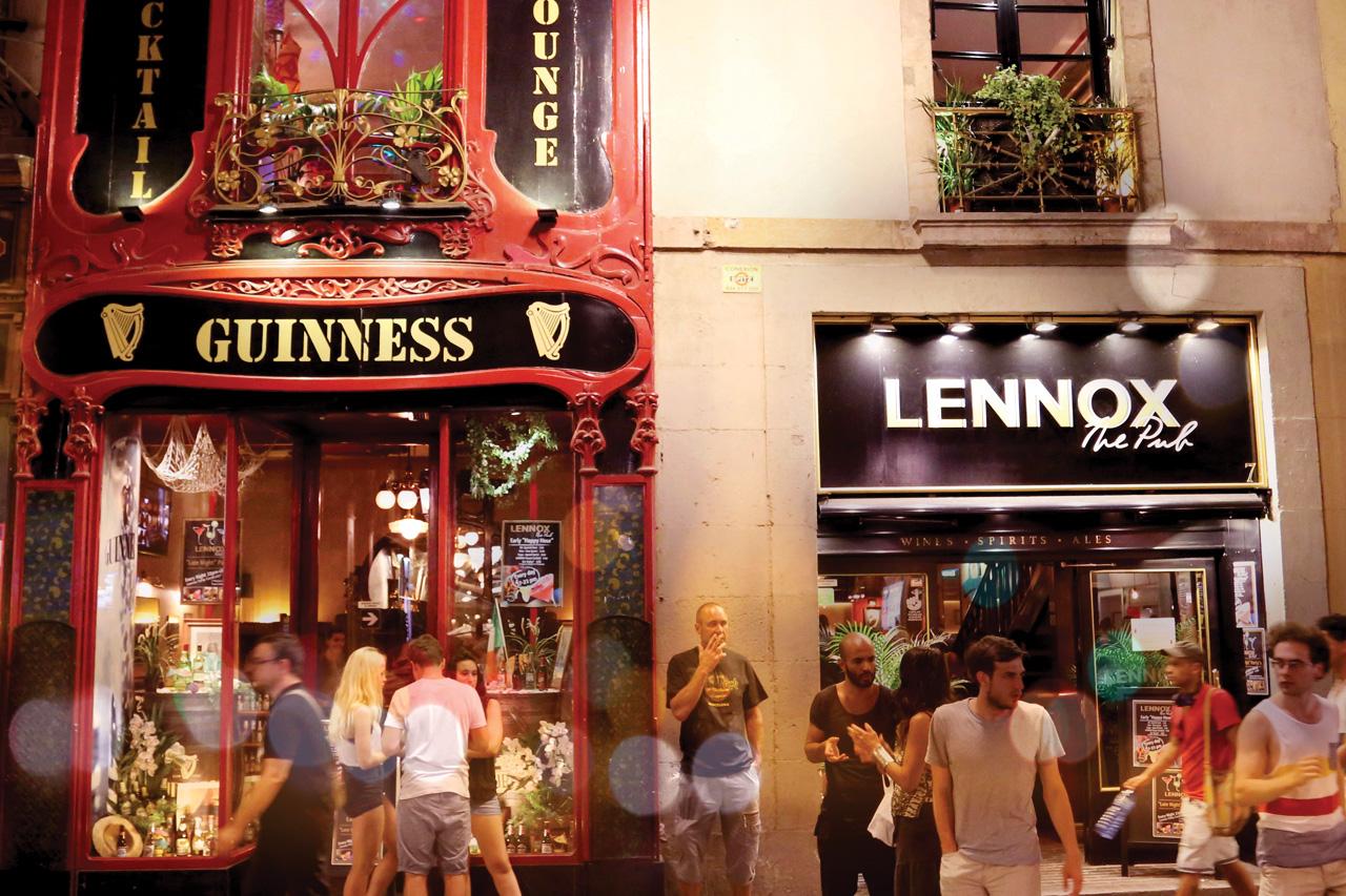 lennox-the-pub-palma-de-mallorca-barcelona-ferran-guinness-sports-bar
